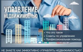 Управление недвижимостью как бизнес — пошаговая инструкция как управлять недвижимостью + профессиональная помощь в управлении недвижимостью