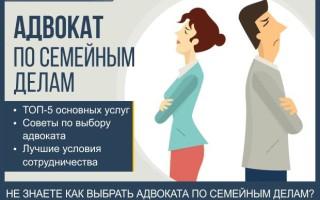 Адвокат по семейным делам — пошаговая инструкция как выбрать юриста по семейным спорам + обзор ТОП-3 компании по разрешению семейных споров в суде