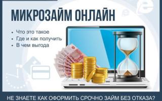 Микрозаймы онлайн — как срочно оформить займ без отказов: пошаговая инструкция для новичков + обзор ТОП-5 компаний по предоставлению услуг