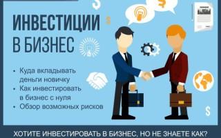 Инвестиции в бизнес с нуля — советы как инвестировать в стартапы + 5 проверенных вариантов инвестирования для новичков
