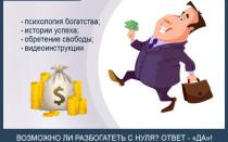 Как стать богатым и успешным с нуля — 7 простых шагов к богатству для тех, кто хочет обрести финансовую свободу и жить жизнью своей мечты!