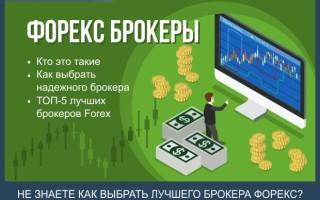 Форекс брокеры — как выбрать надежного брокера + рейтинг ТОП-5 лучших компаний