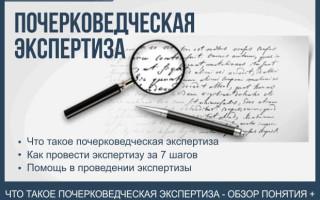 Почерковедческая экспертиза — пошаговая инструкция по проведению экспертизы почерка + 3 основные причины, по которым можно оспорить результаты экспертизы