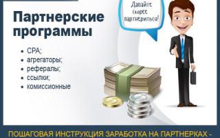 Как заработать на партнерских программах — 50 000 руб. за 1 мес. Инструкция для новичков + личный опыт заработка на партнерках (со скриншотами и наглядными примерами)