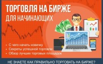 Торговля на бирже для начинающих — советы как торговать успешно + обзор ТОП-5 брокеров с лучшими условиями сотрудничества