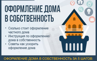 Оформление дома в собственность — как оформить дом на земельном участке за 5 шагов: инструкция для новичков + 3 полезных совета как ускорить оформление частного дома
