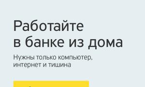 Работа на дому в Тинькофф банке: преимущества заработка и карьерные перспективы