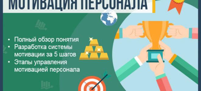 Что такое мотивация персонала — полный обзор понятия + инструкция по разработке системы мотивации сотрудников за 5 шагов