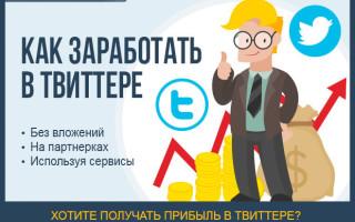Как заработать деньги в социальной сети Твиттер (twitter.com) – подробное руководство для новичков + советы по раскрутке аккаунта