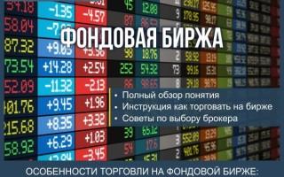 Что такое фондовая биржа — пошаговая инструкция по успешной торговле на фондовой бирже для чайников + обзор ТОП-5 брокерских компаний