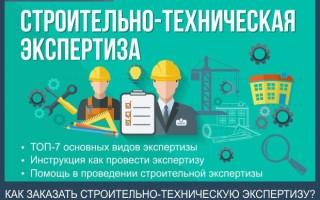 Строительно-техническая экспертиза — пошаговая инструкция как провести строительно-техническую экспертизу за 7 шагов + профессиональная помощь в проведении экспертизы