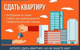 Как сдать квартиру — пошаговая инструкция по сдаче квартиры в аренду на длительный срок без посредников или через агентство + профессиональная помощь в сдаче квартиры в аренду