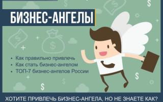 Что такое бизнес-ангелы — список ТОП-7 business angels России + 5 простых шагов как привлечь бизнес-ангела