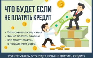 Что будет если не платить кредит — советы как это сделать законно + обзор ТОП-5 антиколлекторских агентств в Москве