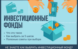 Инвестиционные фонды — как выбрать за 5 шагов + рейтинг ТОП-7 ПИФ в Москве