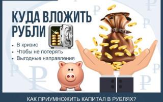 Куда выгоднее вложить рубли в кризис, чтобы не потерять свои сбережения – рекомендации от экспертов + ТОП-5 самых выгодных на сегодня инвестиционных направлений