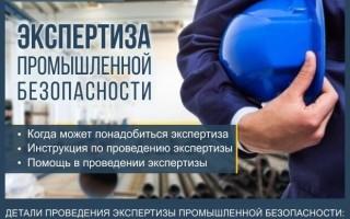Экспертиза промышленной безопасности — инструкция как провести экспертизу опасных производственных объектов за 7 шагов + профессиональная помощь в проведении экспертизы