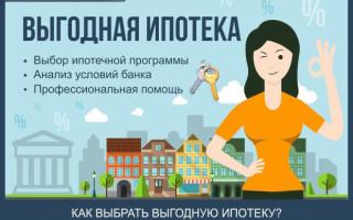 Выгодная ипотека — как выбрать самую дешевую ипотеку + профессиональная помощь в получении выгодной ипотеки