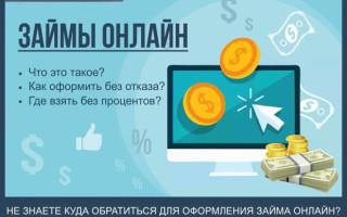 Займы онлайн — как срочно взять заём через Интернет за 5 минут без отказа: пошаговая инструкция для новичков + обзор ТОП-7 популярных компаний кредиторов