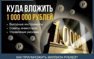 Куда лучше вложить 1000000 рублей, чтобы заработать – 5 прибыльных способов инвестирования + советы по сохранению капитала