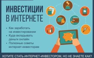 Инвестиции в Интернете от 100 рублей — как правильно инвестировать с малыми рисками + ТОП-7 надежных вариантов онлайн-инвестирования